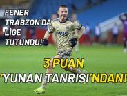 Trabzonspor – Fenerbahçe maç sonucu: 0-1