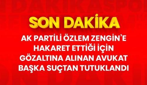 AK Partili Zengin'e hakaret ettiği için gözaltına alınan Avukat Mert Yaşar, 'Cumhurbaşkanına hakaret'ten tutuklandı