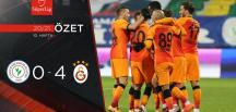 Galatasaray 3-4 Çaykur Rizespor   MAÇ SONUCU.