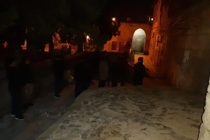 Urfa Motorize Polis Ekibinden Ulu Camii Bölgesine Operasyon