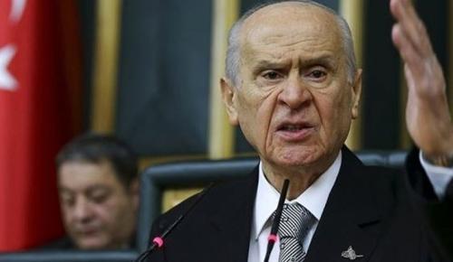 Devlet Bahçeli: Bildiride imzası bulunan 103 emekli amiralin rütbeleri sökülmelidir