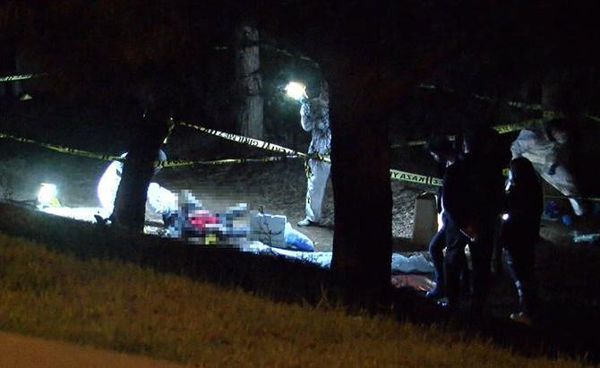 TEM kenarında bir kişi öldürülmüş halde bulundu