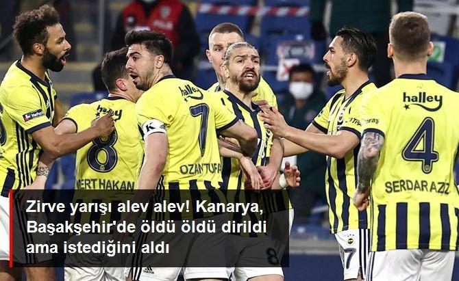 Fenerbahçe, Başakşehir deplasmanında 3 puan almayı başardı