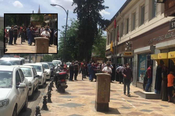 Urfa'da Tam Kapanmada Skandal Görüntüler