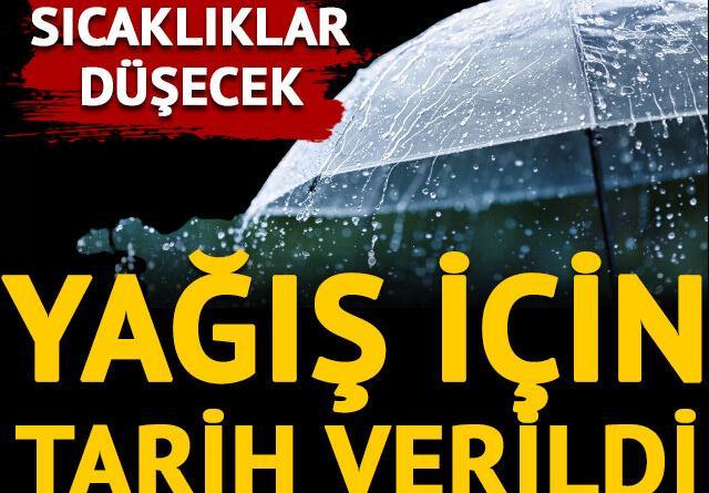 Türkiye genelinde sıcaklıklar düşecek
