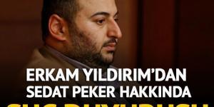 Sedat Peker hakkında suç duyurusu