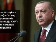Cumhurbaşkanı'na hakaret eden CHP'li Aykut Erdoğdu hakkında soruşturma başlattı