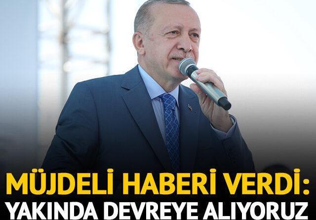 Erdoğan'dan yerli aşı açıklaması: Yakında devreye alıyoruz