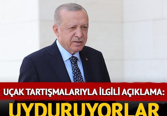 Cumhurbaşkanı Erdoğan'dan yangınlarla ilgili açıklama
