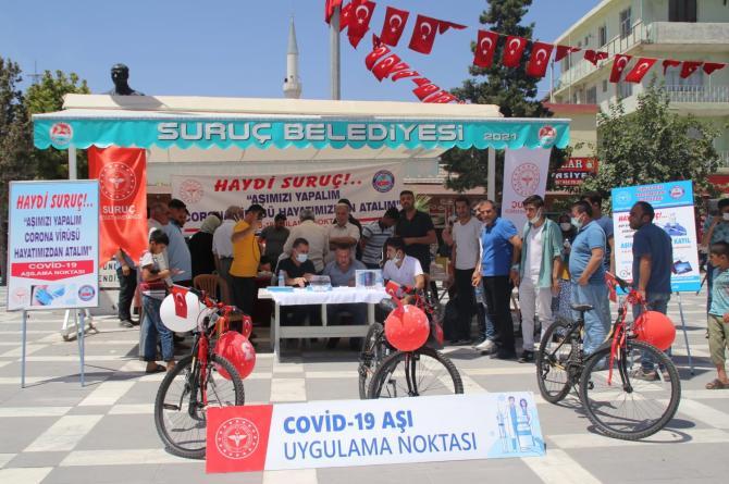 Aşı Olan Gençler Bisiklet Ve Tablet İle Ödüllendirildi…