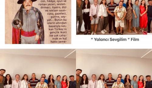 """YEŞİLÇAM'IN ÇINARLARI """"YALANCI SEVGİLİM"""" FİLMİNDE BİR ARAYA GELDİ"""